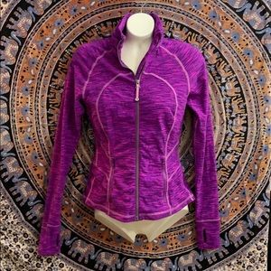 Purple Lululemon Active Zip up Jacket -Size Small